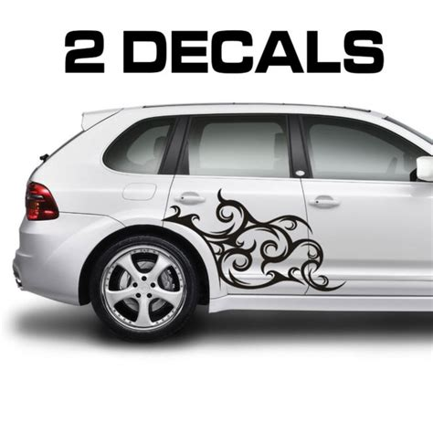 Tribal Sticker Design Decals by Tribal Scroll Design Car Door Decal Sticker Car Door