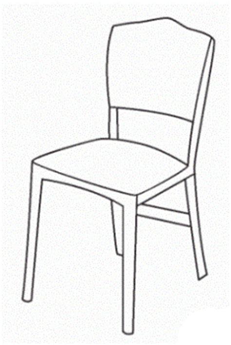 stuhl zum ausmalen ausmalbilder zum drucken malvorlage stuhl kostenlos 2