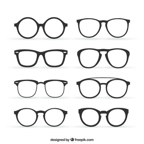 glasses vector eyeglasses vectors photos and psd files free download