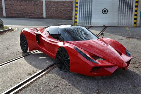 World S Slowest Ferrari Powered By Bike