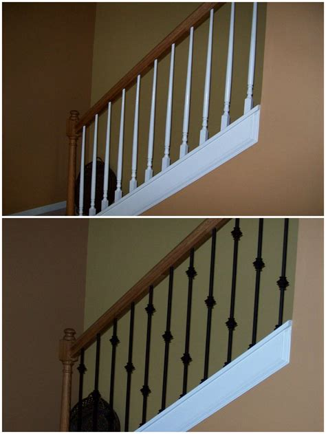 Banister Capital Capital Stair Makeover Raleigh Nc 27609 Angies List