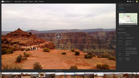 panorama viewer skydrive now supports panorama viewing you can try