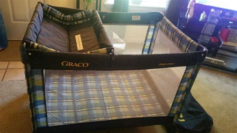 pack n play with changing table and storage letgo graco pack n play with in of nc nc