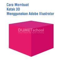 cara membuat rumah menggunakan kotak cara membuat kotak 3d menggunakan adobe illustrator