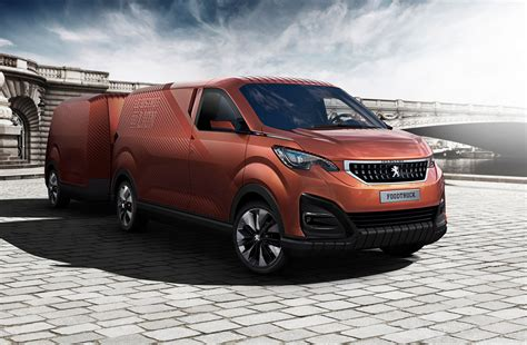 peugeot car van peugeot food truck burger vans reimagined by the french