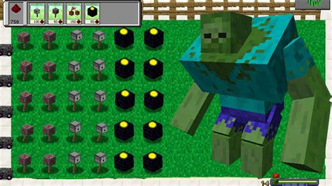 mod game plant vs zombie plants vs zombies mod minecraft team plants fight youtube