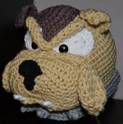 crochet pattern english bulldog free pattern for crochet bulldog squareone for