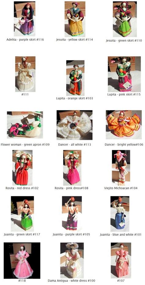 mexican corn husk dolls history mexican cornhusk dolls article gourmetsleuth