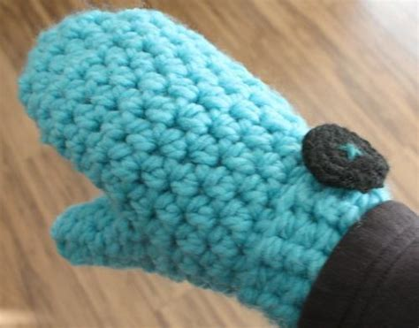 mitten pattern bulky yarn you have to see super chunky mittens crochet by dianasgrl