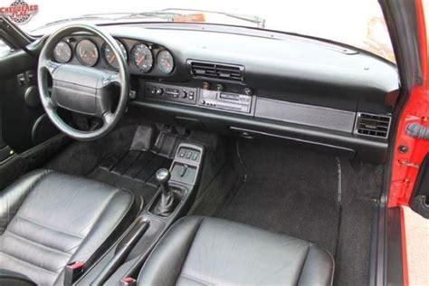 1991 porsche 911 turbo interior porsche 911 964 carrera 2 cabriolet 1991 for show by