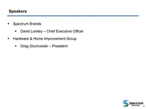 spectrum brands holdings inc form 8 k ex 99 2