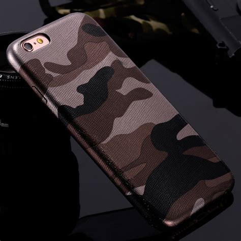 iphone  military camouflage cool men leather  cover case  iphone