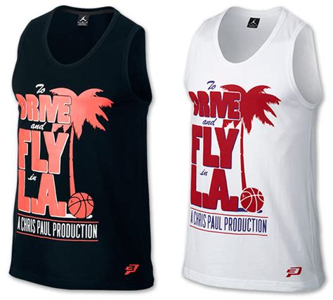 Shirt Chris Paul Cp Kaos Chris Paul cp3 vii ae playoffs clothing shirts shorts sportfits