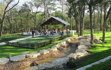 outdoor wedding venues south east houston and south east wedding venues