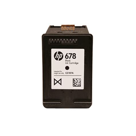 Hp 678 Catridge Black buy hp 678 black ink cartridge cz107aa lowest