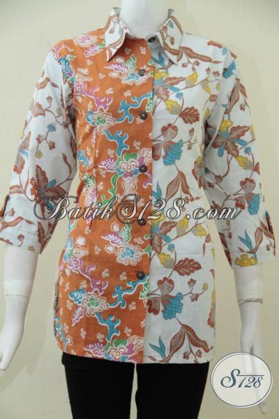 Tempat Jual Baju Ukuran Besar tempat belanja baju batik terpercaya jual blus batik modern trend mode masa kini dengan