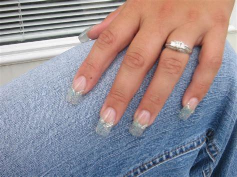 salon yuliana glitter acrylic nails nail ftempo