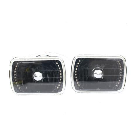 juegos cuadrados juego de faros cuadrados con fondo negro y perfil led para