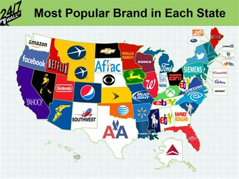 Search By Name And State Brandchannel Trends Snapshot Of Most Popular Us Brand Searches By State
