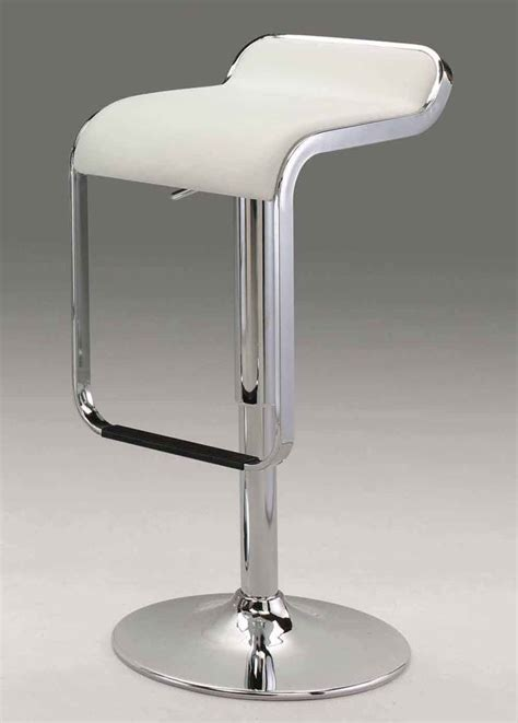 White Bar Stool Chairs Modern White Chair Cr6050wh Bar Stools