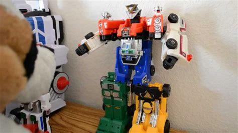 Megazord Turbo Daizyujin Turbo Base Power Ranger power rangers turbo rescue megazord review