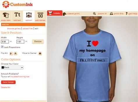 design a shirt vs custom ink customink meet the online market leader in custom t
