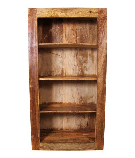randolph solid wood bookshelf buy at best price in