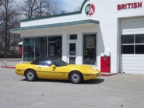 corvette apparel canada 1987 yellow convertible larry c oshawa on