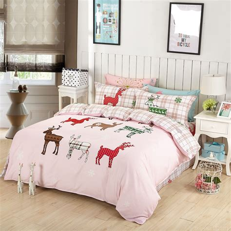 deer bedding set get cheap deer comforter set aliexpress