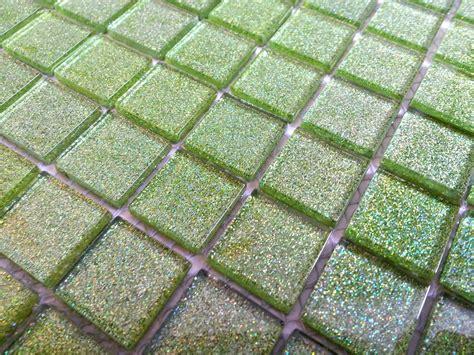 Fliesenkleber Kosten Pro M2 by Gr 252 N Glitzereffekt Glans Glas Mosaik Fliesen Bad K 252 Che