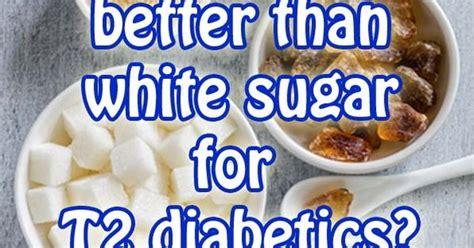 brown sugar better than white sugar is brown sugar any better than white sugar for type 2