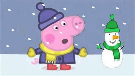 peppa pig goodnight peppa youtube pepa prase zima zima peppa pig winter winter youtube