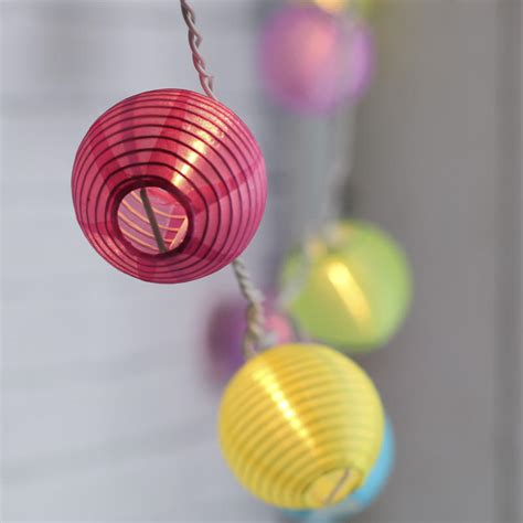 colored lantern string lights multicolored lantern string lights lighting