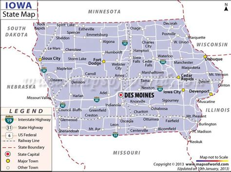 iowa state map 17 best images about us states on arizona idaho and connecticut