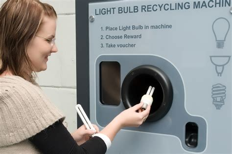 how are fluorescent light bulbs recycled green recycling machines for light bulbs and batteries in