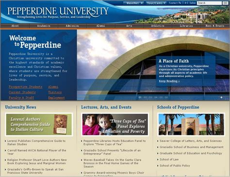 Usc Mba Program Gpa Requirement by Pepperdine Malibu Ca Average Sat And Act