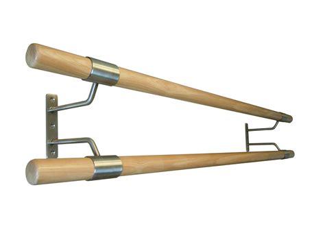 double wall mounted ballet barre bracket ballet barrescom
