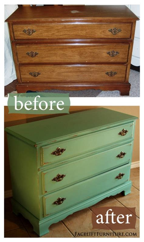 Painted Furniture Ideas Before And After by Diy Pink Distressed Dresser Room 4 Interiors