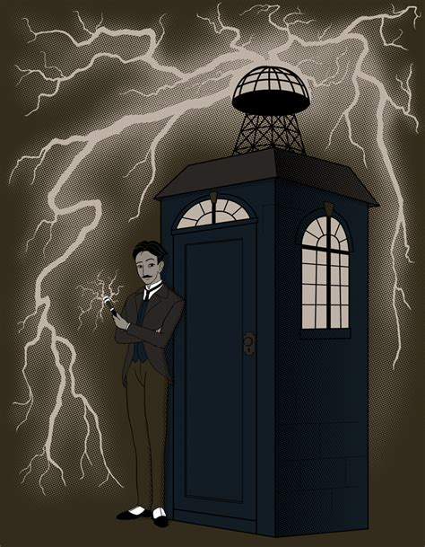 Tesla Coil Doctor Who Tesla The Time Lord By Bandlith On Deviantart