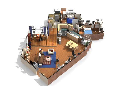 Sitcom House Floor Plans by The Big Bang Theory Visitez L Appartement De Sheldon