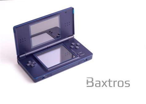 console nintendo ds nintendo ds lite blue console baxtros