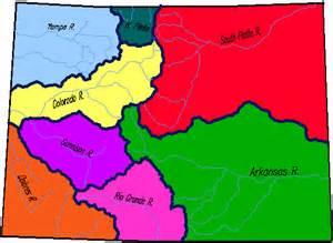 colorado watershed swe as percent of median peak point