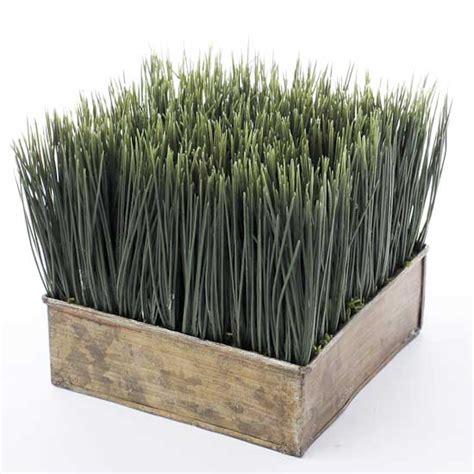 artificial wheat grass planter artificial greenery