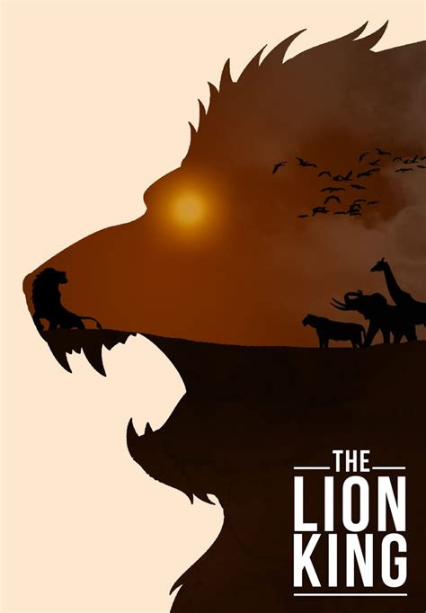 film techniques in lion king mind blowing posters art xcitefun net