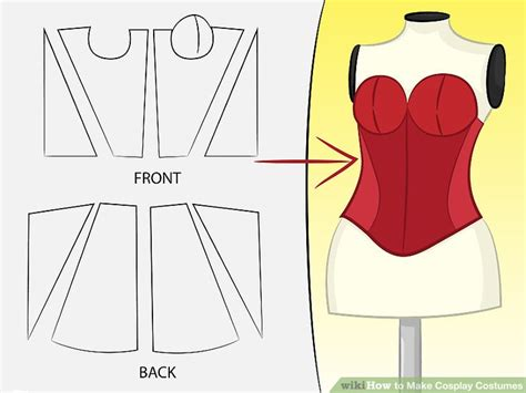 design clothes wikihow 5 ways to make cosplay costumes wikihow