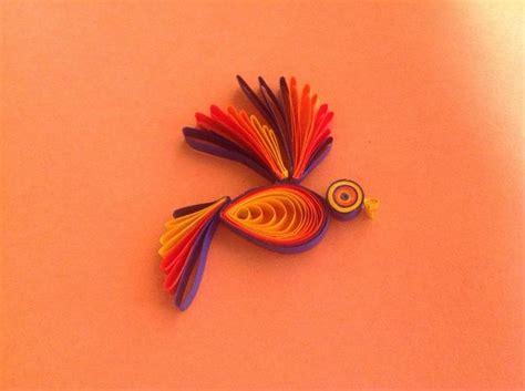paper quilling birds tutorial diy beautiful paper quilling bird craft tutorial
