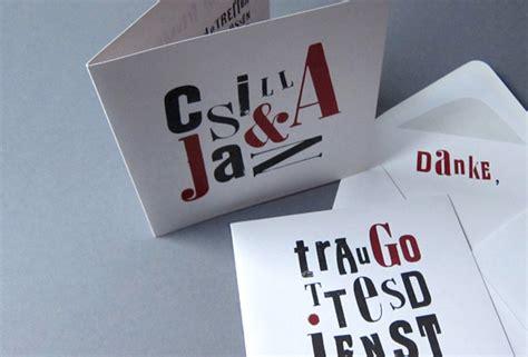 Hochzeitseinladung Programm by Csilla Jan Jetter Grafikdesign
