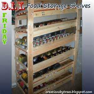 diy fridays food storage rotation shelves lpc survival