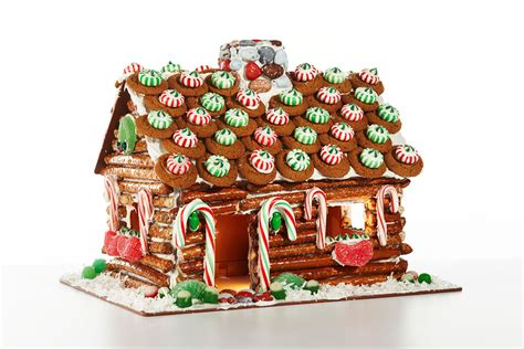 the candy house don t bake ddcorate a plastic gingerbread house from candy cottage