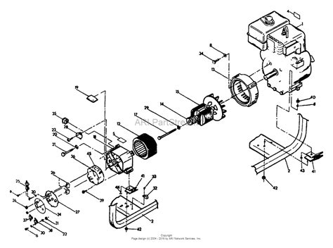 kawasaki portable generator parts diagram kohler generator
